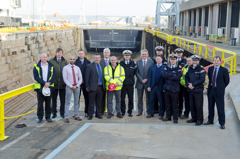 OPENING OF DESTROYER AND FRIGATE CENTRE