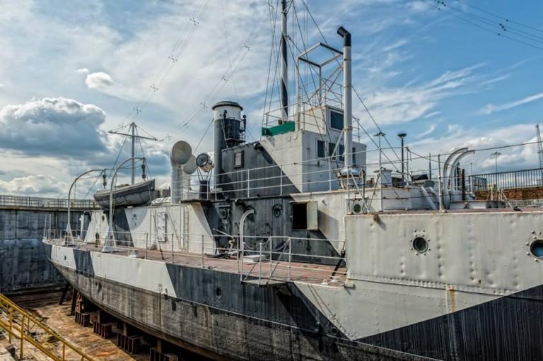 HMS M.33 UNVEILED